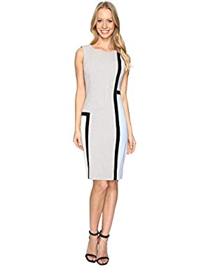 Calvin Klein Womens Color Block Sheath CD6X1V8P