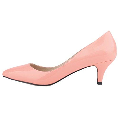 WanYang Bajo Moda de Tac Zapatos Clasico Mujer rapxR6r