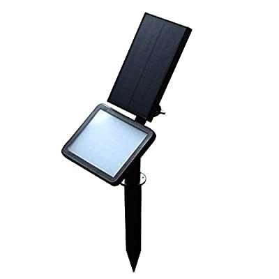 LIANDER HOME Outdoor Solar Lights stakes Floodlight - outdoor lighting, Waterproof Landscape Lighting with 48LED Upgraded 300 Lumens Garden Light (White Light) - By