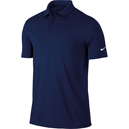 Nike Men's Victory Solid Polo, College Navy/White, XL