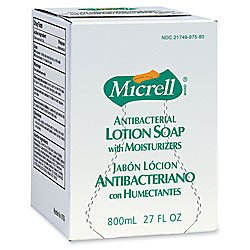 GOJ975712CT - Gojo MICRELL Antibacterial Lotion Soap Refill by Gojo