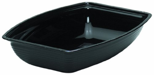 Cambro RSB912CW135 Camwear Bowl ribbed rectangular 9 x 12-1/8