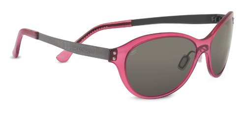 Serengeti Giustina Sunglasses, Crystal Wine Frame, Polar PhD CPG Lens