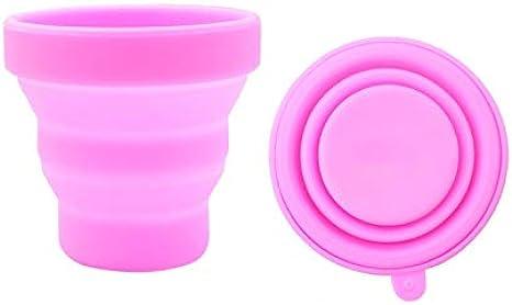 Timagebreze 4 Piezas/Lote Copa Menstrual para Higiene Femenina Copa de Silicona MéDica Copa Menstrual Reutilizable para Mujer