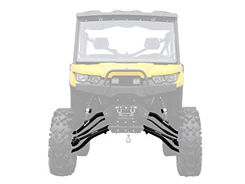SuperATV 6 Lift Kit for Can-Am Defender MAX XT Cab Enclosure/Lonestar (See Fitment) - ONLY Chromoly Kit for the Defender!