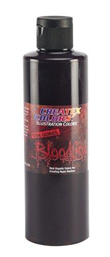Createx Colors Bloodline Paint for Airbrush, 8 oz, Deep Bruise Purple (Bruise Colors)
