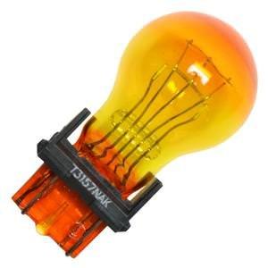 26380 3157na/Ll Bp2 Ge Auto 27/8w S8 Bulb Wedge Base Amber 2/Crd (12314) (Wedge Base Amber)
