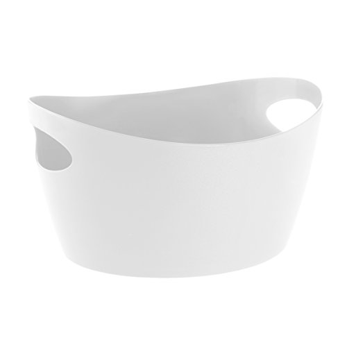 Bottichelli Washtub L Solid BLACK White YuuhvRwb