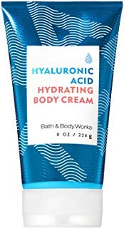 Bath and Body Works WATER Hyaluronic Acid Hydrating Body Cream 8 Ounce