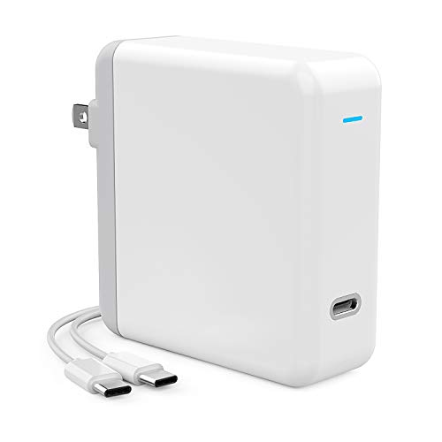 Onforu 61W USB C Power Adapter, UL Listed Power Delivery Wall Charger, Fast Charger for MacBook Pro Thunderbolt Port, iPad Pro, USB Type C Charging Laptop, Smartphone, etc (USB C-C Cable Included) by Onforu (Image #1)