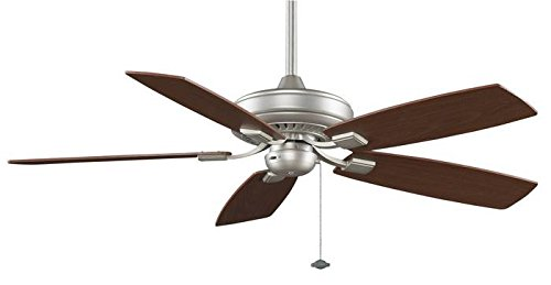Fanimation Edgewood Decorative 52-inch Satin Nickel Ceiling