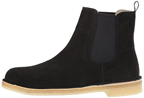 Desert Clarks Black Leather Desert Clarks Boot Black Leather Boot Clarks qYwYUR4