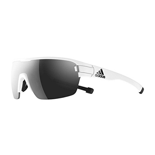 adidas Zonyk Aero S Shield Sunglasses white matte 74 mm