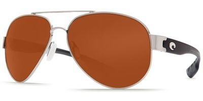 Costa Del Mar South Point Sunglasses, Palladium Silver, Copper 580P - South Sunglasses Costa Point