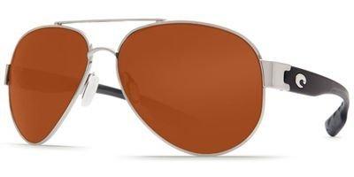 Costa Del Mar South Point Sunglasses, Palladium Silver, Copper 580P Lens by Costa Del Mar