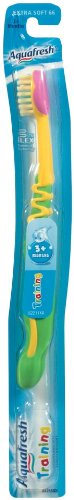 Aquafresh Infant Training Toothbrush, 3+ Months, Colors may vary, 1 (Aquafresh Brush)