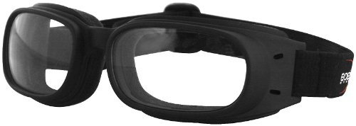 Piston Goggles, Manufacturer: Bobster Eyewear, PISTON GOGGLE BLK/CLR