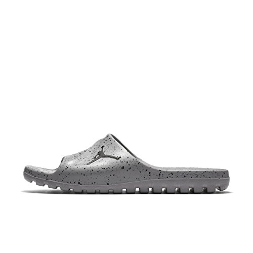 Jordan Super.Fly Team Slide Cement Grey/Black-Black (10 D(M) US) by Jordan