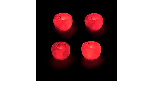 YLCOYO Decoración de Navidad Regalo de Navidad brillante rojo ...