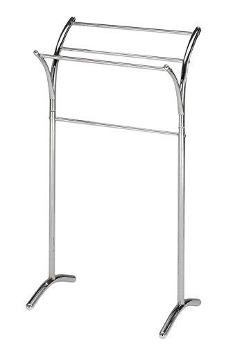 Kings Brand Chrome Finish Towel Rack Stand