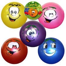 Kandy Set Of 3 Large Fruity Smelly Scented Kids Fruit Balls