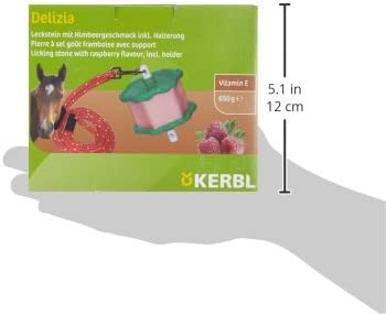 Kerbl 322703 Delizia Leckstein Himbeere