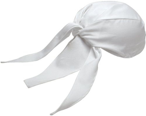 Chef Revival H023WH Cotton Scarf Hat, (Chef Revival Hat)