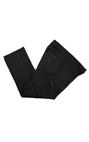 32x36 black dress pants - 4