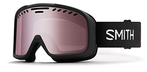 Snow Ski 1 (Smith Optics Project Adult Snow Goggles - Black/Ignitor Mirror/One Size)