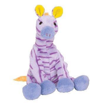 TY Beanie Baby - VEGAS the Zebra (Circus Beanie) (Zebra Baby Beanie)