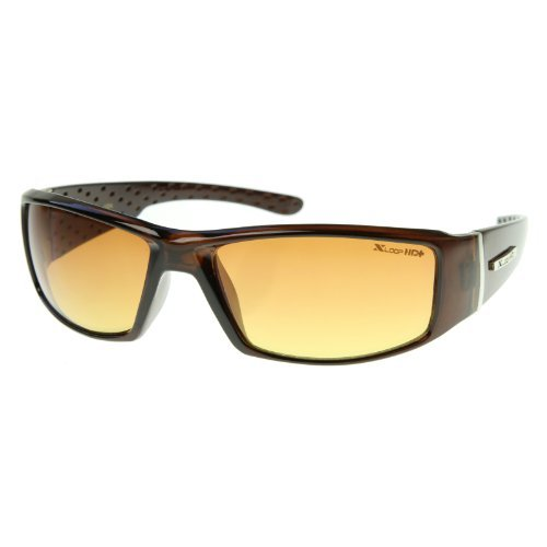 X-Loop - HD Active Frame Sports Wrap Sunglasses - X Sunglasses Sports Loop