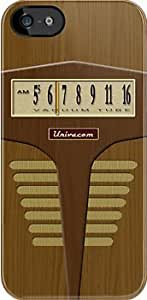 SUUER Pre-Transistor Radio Custom Hard CASE for iPhone 5 5s Durable Case Cover