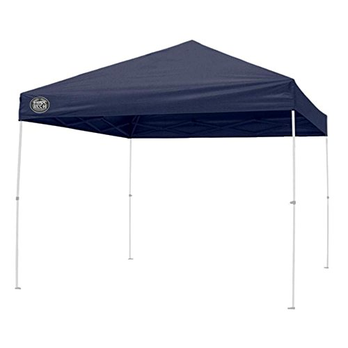Shade Tech 157469 8 ft. x 8 ft. Straight Leg Instant Patio Canopy in Dark Blue