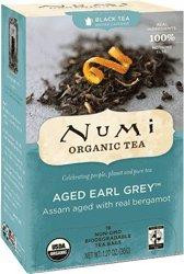 Numi Organic Tea, Black Tea, 18 Count Tea Bags