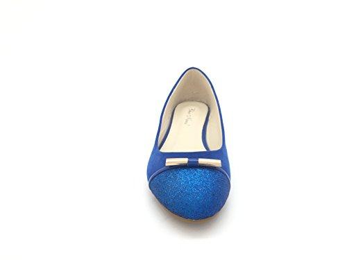 CHIC blu Blu Donna Ballerine NANA 7wqRn7HS