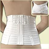 FLA Hospital Grade Ventilated Back Support. White. XX-Large