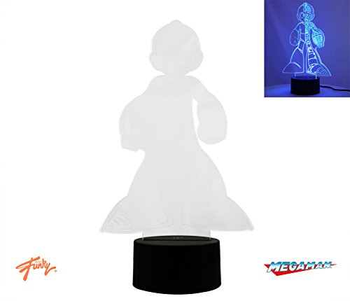 Price comparison product image JUST FUNKY OFFICIAL Megaman 3D Vision Lamp Novelty and Perfect GIFT