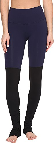 ALO Women's High Waisted Goddess Leggings Rich Navy/Black Small 33 by ALO Sport (Image #2)