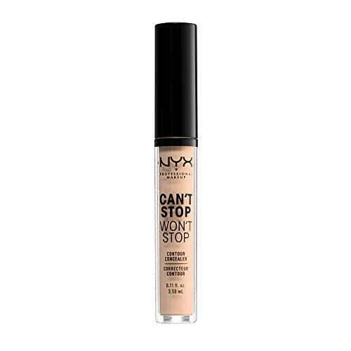 NYX PROFESSIONAL MAKEUP Can't Stop Won't Stop Concealer, Vanilla