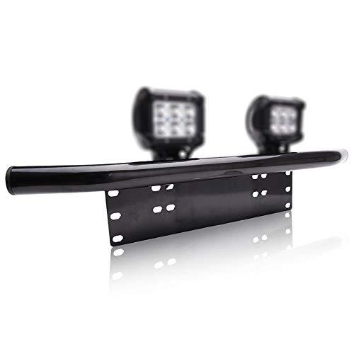 Willpower 23 Inch Voorbumper Kentekenplaat Beugel Aluminium Bull Bar Voorbumper Montage Beugel Houder voor Off road LED…