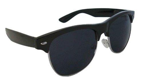 459fbb5481cc4 Amazon.com  MJ Eyewear JFK Retro Classic Sunglasses - Black - Worn ...