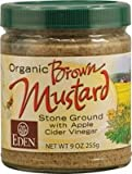 Eden Foods Brown Mustard Glass ( 12x9 Oz)