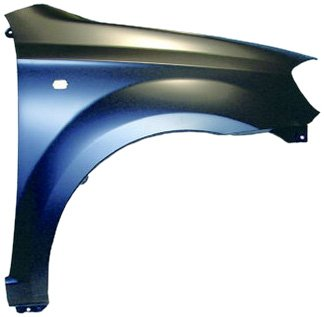 - OE Replacement Chevrolet Aveo Front Passenger Side Fender Assembly (Partslink Number GM1241334)