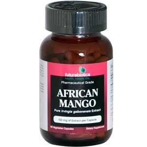 Mango Futurebiotics africaine, 60-Count