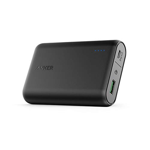 Anker PowerCore 10000 with Quick Charge 3.0, 10000mAh Power Pack Portable Charger with Qualcomm Quick Charge 3.0, for Samsung, iPhone, iPad and More (Black)