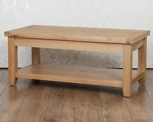 Classically Modern Solid Chunky Oak Harrogate Natural Fully