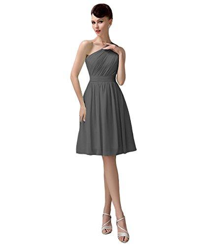 Mujer Oscuro Gris Para Vestido Yesdress HT0wC1Cq