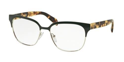 Eyeglasses Prada PR 54SV UEZ1O1 GREEN/SILVER