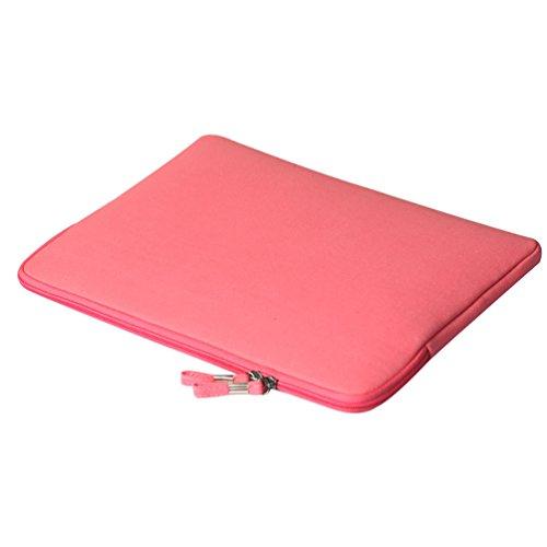 YiJee Funda para Portátiles con el Bolso Extra Ordenador Portátil Caso para Computadora 13.3 Pulgada Rose