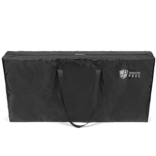 Tailgating Pros Cornhole Board Carrying Case 4'x2' Regulation Size (Heavy-Duty Material)